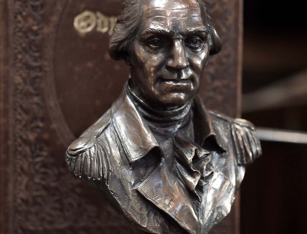 PRESIDENT SCULPTURE - GEORGE WASHINGTON