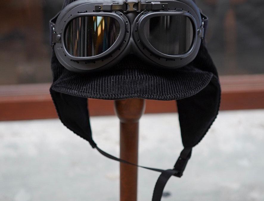 MAKOTO - AIRTROOPER HAT BLACK