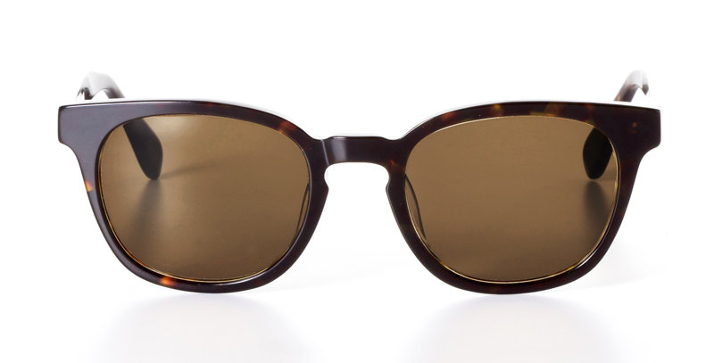 PATRICK DARK OAK - SUNGLASSES SEPIA