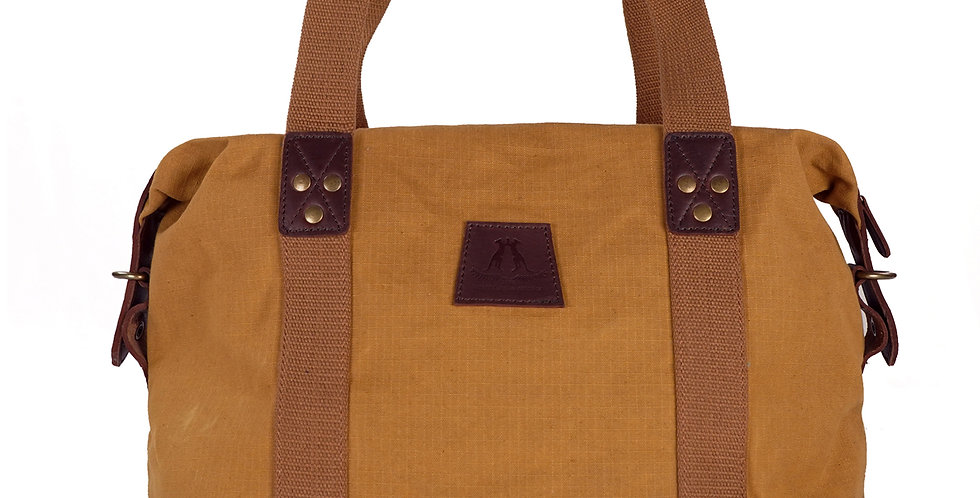 WG - SMALL KOKODA DUFFEL BAG - CAMEL
