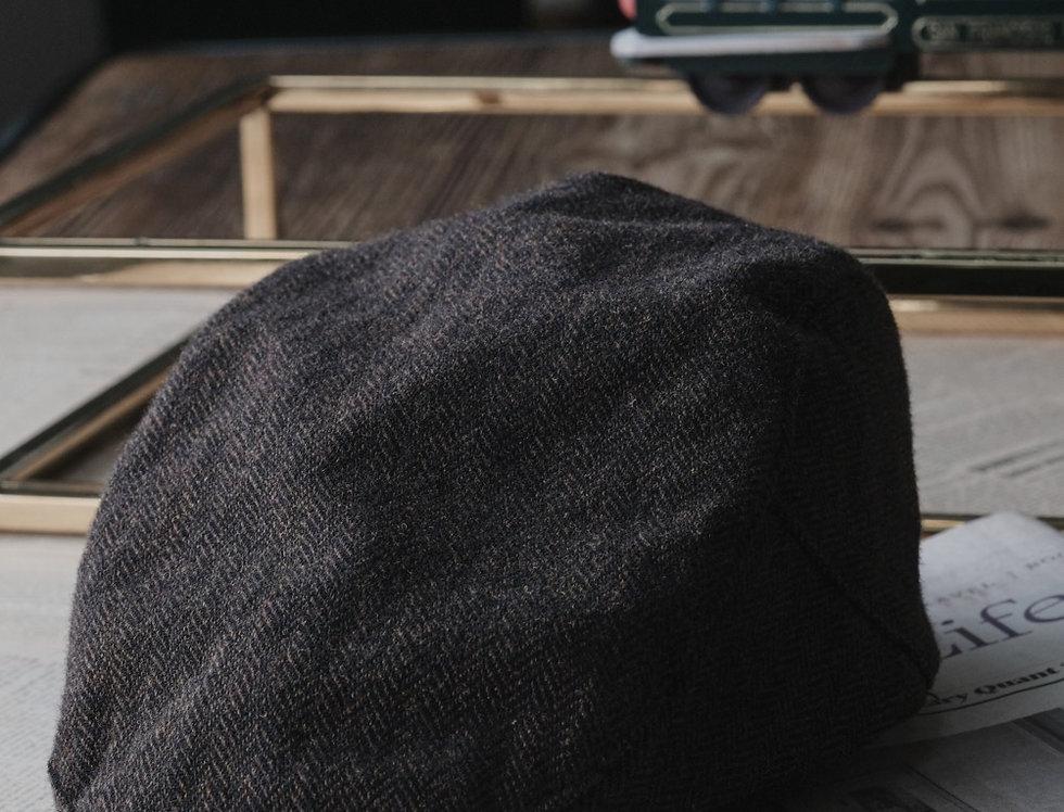 IVY CAP - TWEED BROWN