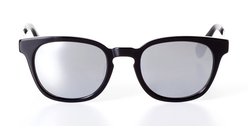 PATRICK MIDNIGHT BLACK - SUNGLASSES SILVER