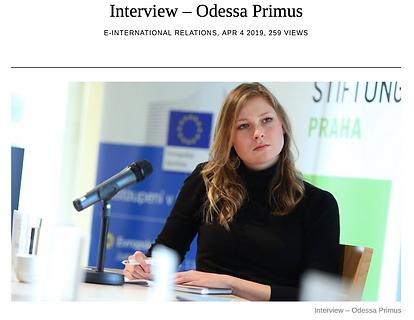 Odessa Primus, GARI Executive Director
