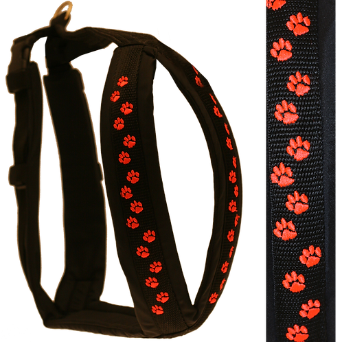 Canicross Harness - Embroidered