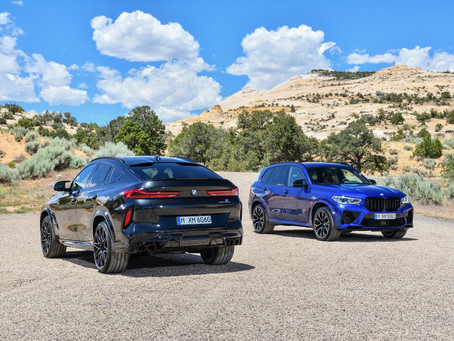 The new BMW X5 M and BMW X5 M Competition. The new BMW X6 M and BMW X6 M Competition.