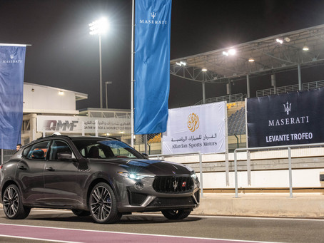 Maserati lineup models takes over the Losail International Circuit