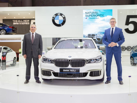 Alfardan Automobiles hosts Middle East debut of the new BMW M3 and M760Li at the Qatar Motor Show