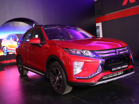 Qatar Automobiles Company reveals the all-new 2018 Mitsubishi Eclipse Cross