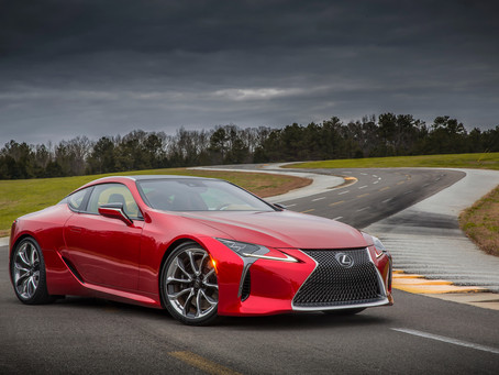 Lexus LC 500 grabs EyesOn Design Awards at 2016 North American International Auto Show