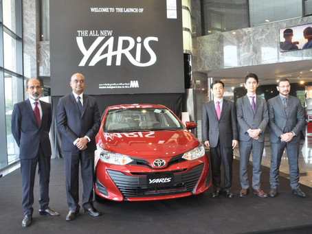 AAB Launches New Yaris with Stylish and Bold Look to Set New Benchmarks for Compact Sedan