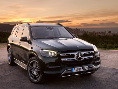 The new Mercedes-Benz GLS.. largest and most luxurious SUV