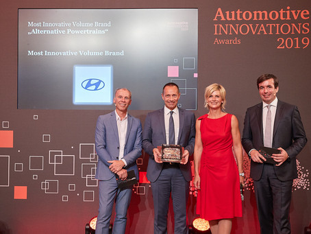 Hyundai Motor Company earns two awards for innovation from Center of Automotive Management and Price