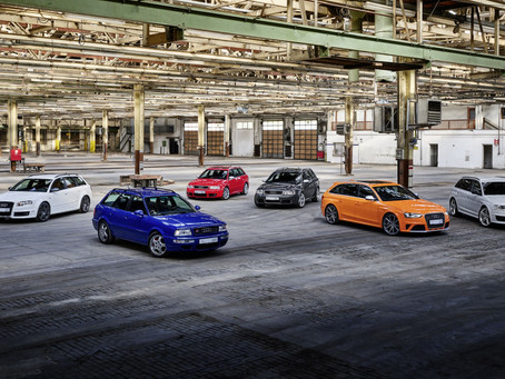 High-Performance. Full of Character. Individual.  Audi Sport Is Celebrating 25 years of the Audi RS