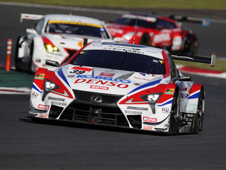 Lexus sweeps two podium finishes at round two of 2018 AUTOBACS SUPER GT 500 series