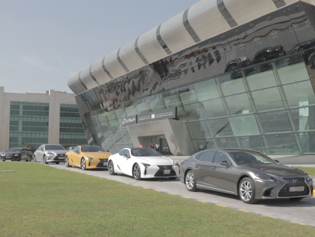 7 hours of pure fun & adrenaline experienced by the media with Lexus Abdullah Abdulghani & B
