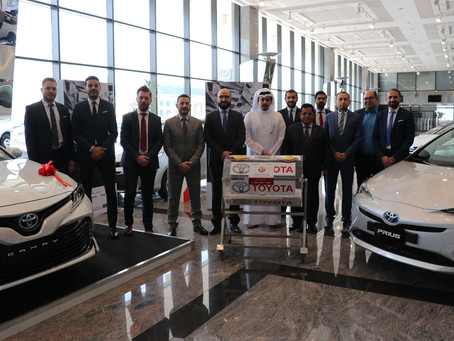 Abdullah Abdul Ghani & Brothers Announces Winners of Two Camry Hybrid and Two Prius Hybrid Cars