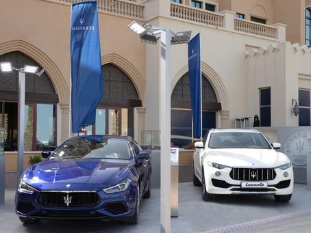 Alfardan Sports Motors participated in Qatar International Boat Show 2018 with Maserati as the Offic