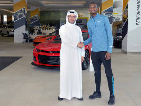 Chevrolet announces new digital campaign to support Mutaz Barshim