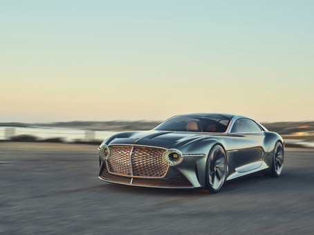 DYNAMIC IMAGERY OF BENTLEY'S VISIONARY EXP 100 GT RELEASED