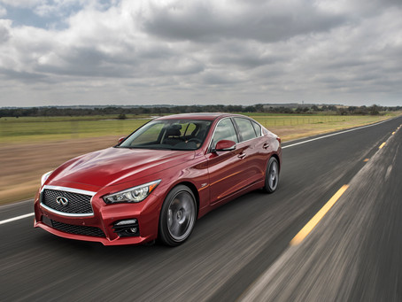Sublime in San Diego,testing the New Infiniti Q60