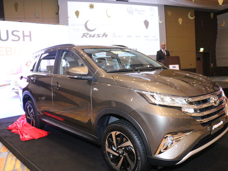 AAB Launch Stylish and dynamic new Rush set to enhance Toyota's compact line-up in Qatar