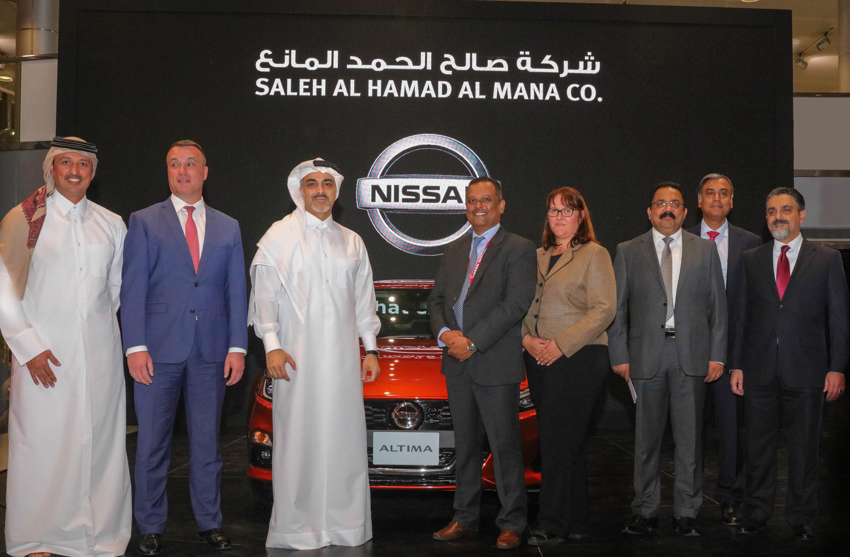 Saleh Al Hamad Al Mana Co  launches the All-New 2019 Nissan Altima