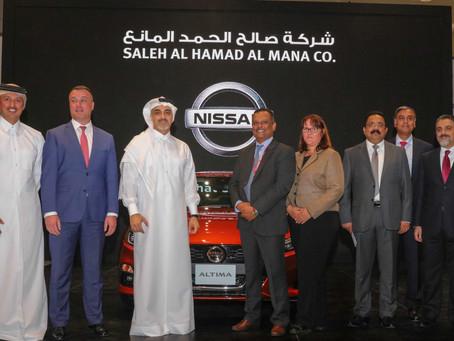 Saleh Al Hamad Al Mana Co. launches the All-New 2019 Nissan Altima in Qatar