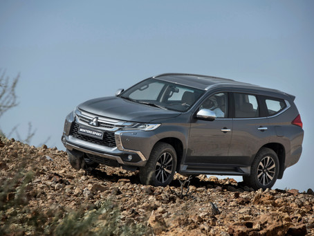Mitsubishi Montero Sport .. the SUV like no other
