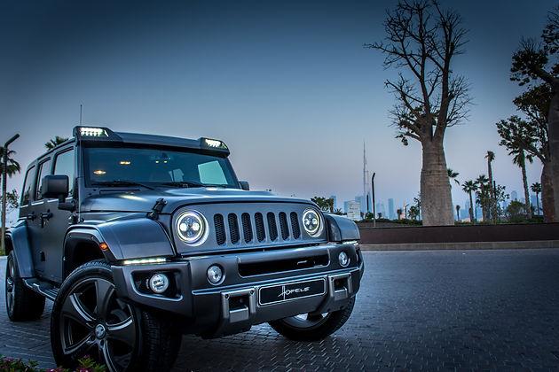 HOFELE Jeep Wrangler – now available in Dubai
