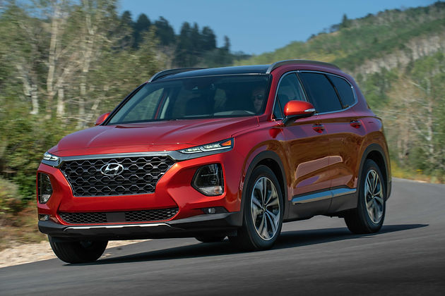Hyundai Santa Fe Named Most Dependable Mid-Size SUV by J D