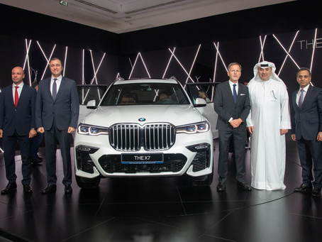 Alfardan Automobiles introduces BMW X7 at a special VIP viewing event
