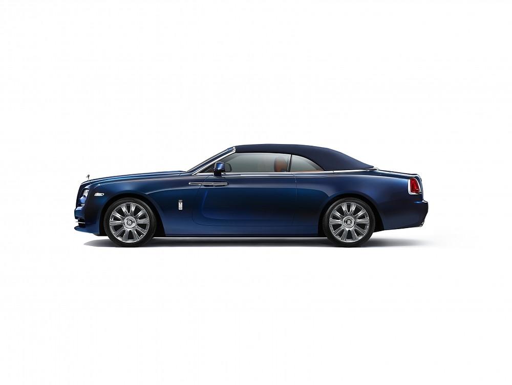 Rolls Royce Dawn, maqina Qatar