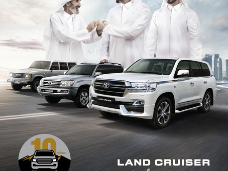 Toyota Land Cruiser Series Global Sales Pass 10 Million Mark