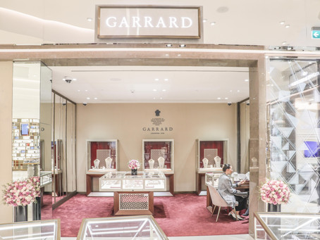 Delicate gemstones enhance iconic silhouettes in new Wings Embrace designs from the House of Garrard