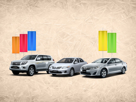 Do not miss the chance with Toyota used Vehicles