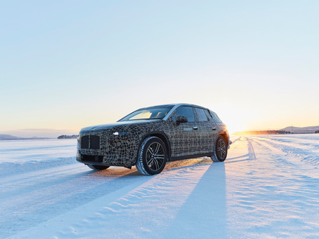 BMW iNEXT undergoes winter trial tests: advancing the future of driving pleasure at the polar circle