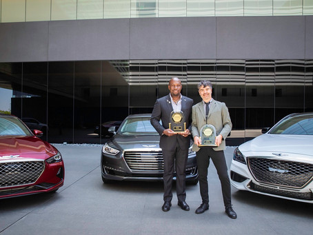 GENESIS RANKED HIGHEST BRAND FOR INITIAL QUALITY  BY J.D. POWER