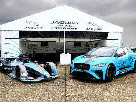 JAGUAR RACING COMPLETE GLOBAL DEBUT OF JAGUAR I-PACE eTROPHY RACECAR