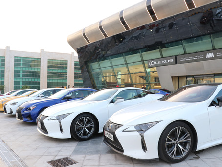 Lexus F-Club members conduct first meeting of the season