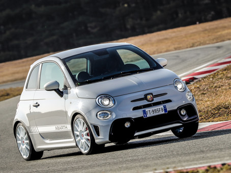 Abarth is celebrating 70 years of history and introducing  the 595 esseesse and 124 Rally Tribute at