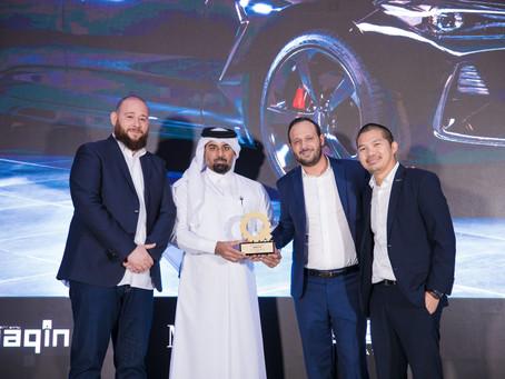 "GENESIS G70 takes home the ""Best Compact Sport Sedan"" award by Maqina Magazine"