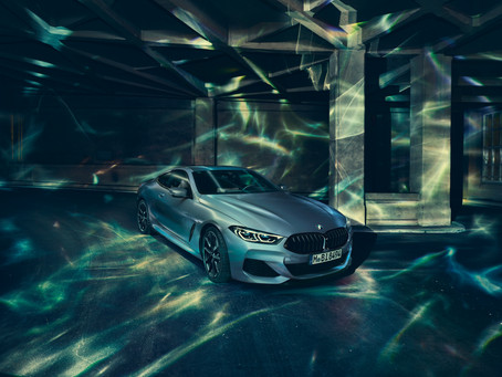 Exclusive position in the front row of the grid: The BMW M850i xDrive Coupe First Edition.