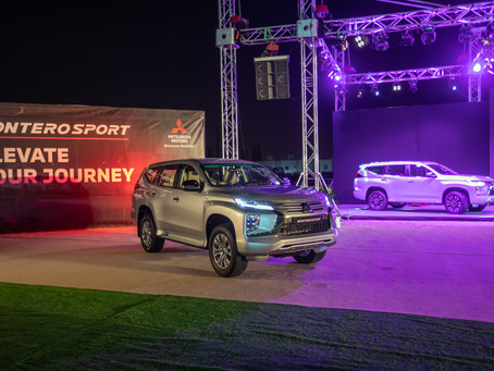 Qatar Automobiles Company launches the all-new Montero Sport 2020 model for the first time in Qatar