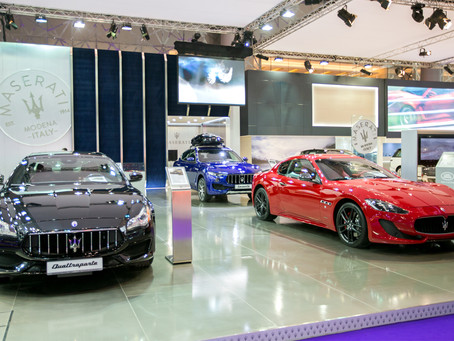 Maserati showcases its latest model line-up at the Qatar Motor Show