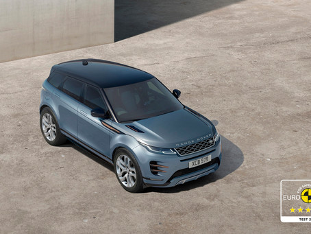 FIVE OUT OF FIVE: NEW RANGE ROVER EVOQUE AWARDED MAXIMUM EUROPEAN SAFETY RATING