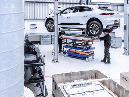 FROM I-PACE TO I-PACE: JAGUAR LAND ROVER GIVES ALUMINIUM A SECOND LIFE