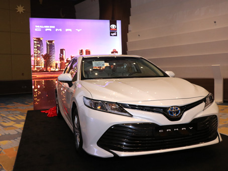 AAB Launch Toyota's all-new Camry Hybrid Electric Vehicle