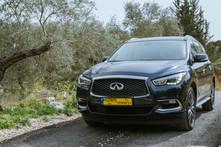 Infiniti QX60 test drive in Lebanon