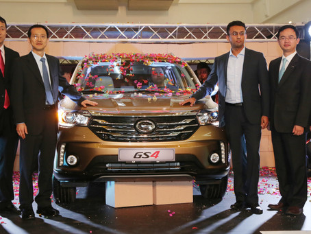The New GS4 from GAC Motor debuts at City Center