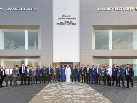 ALFARDAN PREMIER MOTORS NEWLY RENOVATED JAGUAR LAND ROVER